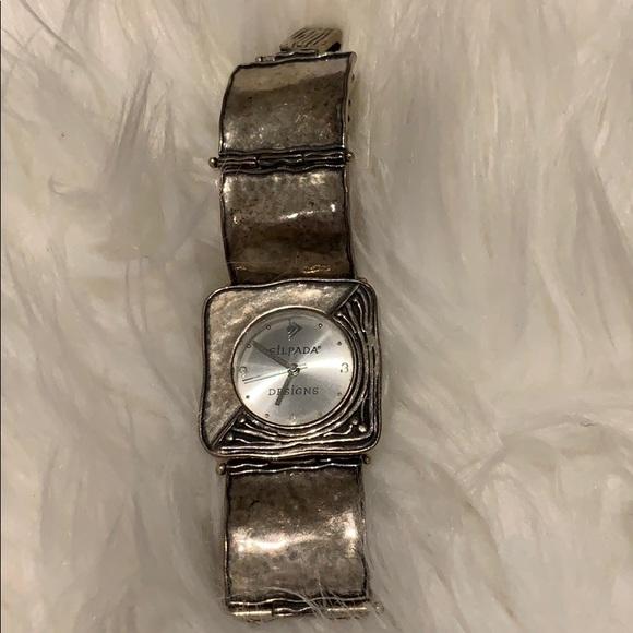 Silpada sterling silver watch
